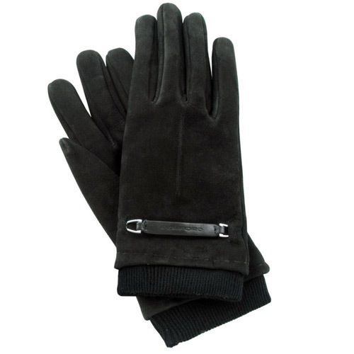 Замшевые перчатки с нейлоновой вставкой Guanti (размер M), фото