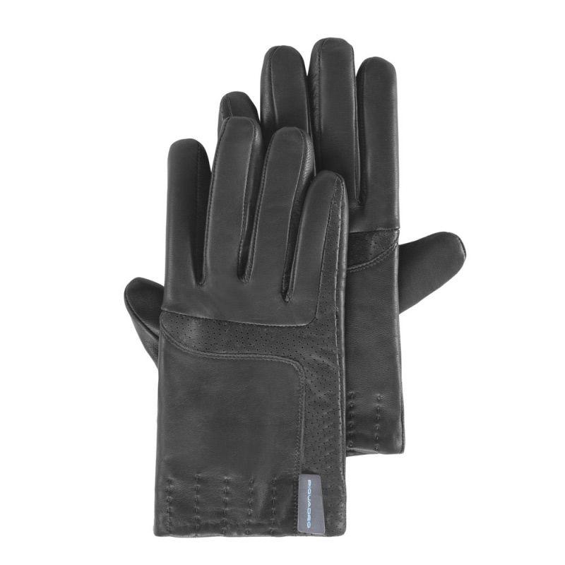 Мужские кожаные перчатки Guanti (размер M)