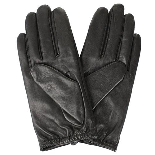 Короткие женские перчатки Tosca Blu украшенные крупными стразами, фото