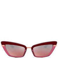 Солнцезащитные очки Dolce&Gabbana бордового цвета, фото