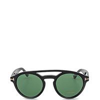 Солнцезащитные очки Tom Ford с линзами зеленого оттенка, фото