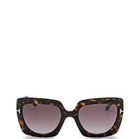 Солнцезащитные очки Tom Ford квадратной формы, фото