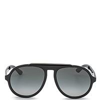 Солнцезащитные очки Jimmy Choo с оправой черного цвета, фото