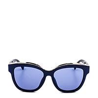 Солнцезащитные очки Moschino в линзами голубого цвета, фото