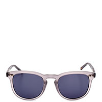 Солнцезащитные очки Calvin Klein в светлой оправе, фото