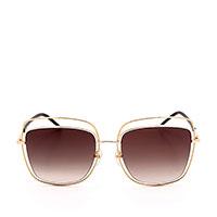 Солнцезащитные очки Marc Jacobs в золотистой оправе квадратной формы, фото