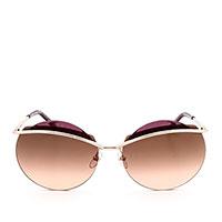 Солнцезащитные очки Marc Jacobs с круглыми линзами коричневого цвета, фото