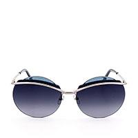 Солнцезащитные очки Marc Jacobs с круглыми линзами фиолетового цвета, фото