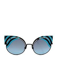 Солнцезащитные очки Fendi в форме кошачьего глаза, фото