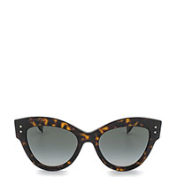 Солнцезащитные очки-бабочки Fendi в ретро стиле, фото