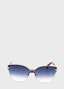 Солнцезащитные очки Tommy Hilfiger с заушниками комбинированного цвета, фото