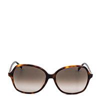 Солнцезащитные очки Max Mara коричневого цвета, фото