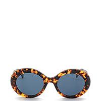 Ретро-очки Max Mara с линзами голубого оттенка, фото