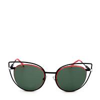 Солнцезащитные очки Fendi с линзами бутылочного цвета, фото
