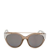 Солнцезащитные очки Max&Co в бежевой оправе, фото