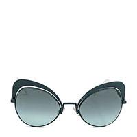 Солнцезащитные очки-бабочки Fendi зеленого цвета, фото