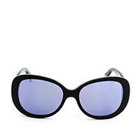 Солнцезащитные очки-бабочки Marc Jacobs с голубыми линзами , фото