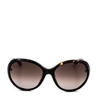 Солнцезащитные очки Moschino в коричневой оправе, фото
