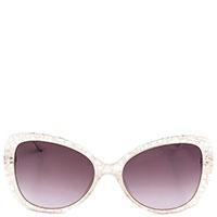 Солнцезащитные очки-бабочки Moschino с фиолетовыми линзами, фото