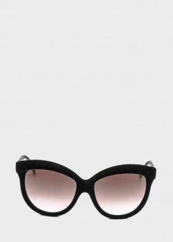 Солнцезащитные очки Italia Independent формы оверсайз, фото