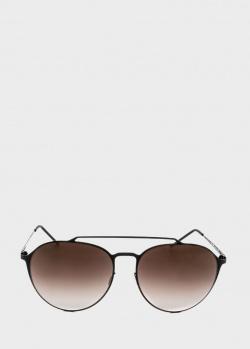 Солнцезащитные очки Italia Independent в форме авиаторов, фото