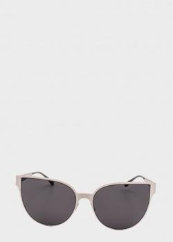 Солнцезащитные очки Italia Independent с оправой серого оттенка, фото