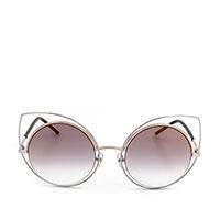 Солнцезащитные очки Marc Jacobs в серой оправе формы кошачьего глаза , фото