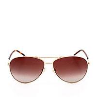 Солнцезащитные очки Marc Jacobs в тонкой коричневой оправе, фото