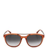 Солнцезащитные очки Calvin Klein в оранжевой оправе, фото