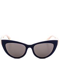 Солнцезащитные очки Calvin Klein в синеней оправе, фото