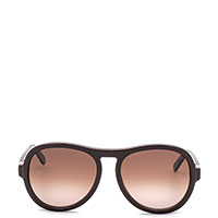 Солнцезащитные очки Chloe с оправой коричневого цвета, фото