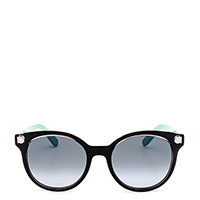 Солнцезащитные очки Salvatore Ferragamo в черной оправе, фото