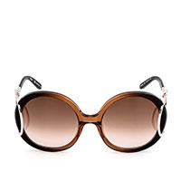 Солнцезащитные очки Chloè в коричневой оправе, фото