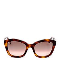 Солнцезащитные очки Salvatore Ferragamo в оправе с принтом, фото