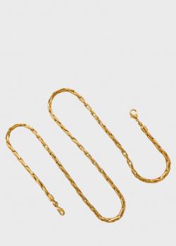 Цепочка для очков Misho с покрытием из позолоты, фото