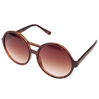 Солнцезащитные очки Komono Coco Tortoise круглые, фото