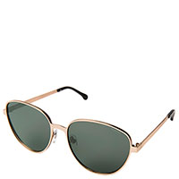 Солнцезащитные очки Komono Chris White Gold, фото