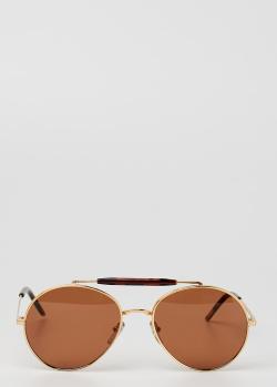 Солнцезащитные очки Marni формы авиатор, фото
