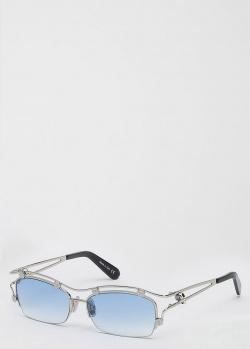 Солнцезащитные очки Philipp Plein с черепами, фото