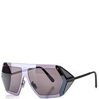 Мужские очки Philipp Plein коричневого цвета, фото