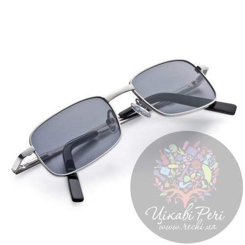 Очки солнцезащитные Dalvey Compact с черным поляризованным пластиком, фото