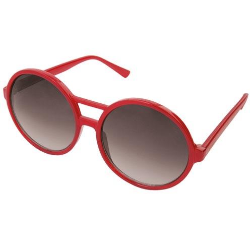 Солнцезащитные очки Komono Coco Milky Red, фото