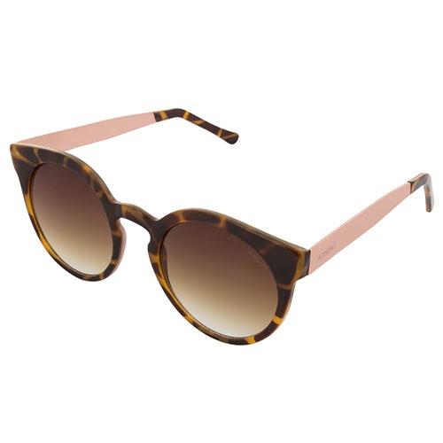 Солнцезащитные очки Komono Lulu Metal Series Tortoise Rose Gold, фото