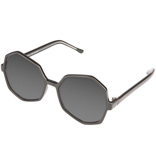 Солнцезащитные очки KOMONO Bonnie BlackTransparent, фото