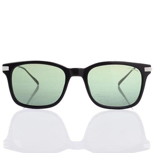 Солнцезащитные очки S.T. Dupont с полупрозрачными зелеными линзами, фото