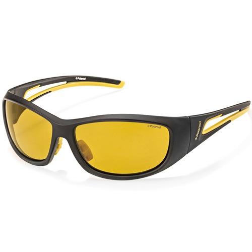 Очки Polaroid спортивные поляризационные желто-черные, фото