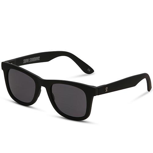 Солнцезащитные очки Supasundays San Quentin Matte Black, фото