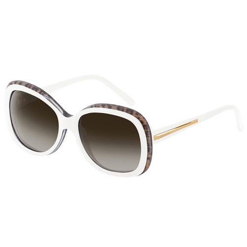 Очки Givenchy белые с леопардовым принтом, фото