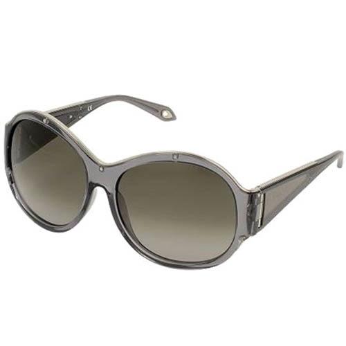 Очки Givenchy с круглой прозрачной оправой серого цвета, фото