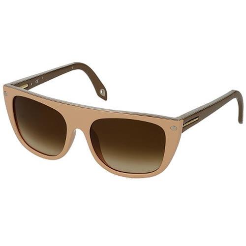 Очки Givenchy бежевые с коричневыми дужками, фото